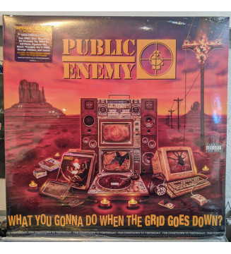 Public Enemy - What You Gonna Do When The Grid Goes Down? (LP, Album, S/Edition) mesvinyles.fr