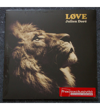 Julien Doré - Løve (LP, Album, Ltd, RE, Gol) mesvinyles.fr