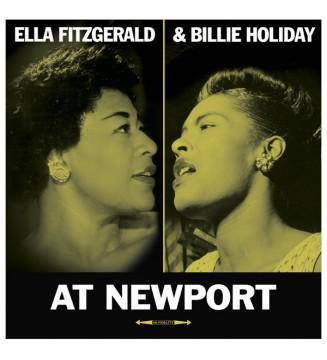 Ella Fitzgerald, Billie Holiday - At Newport (LP, Album) mesvinyles.fr