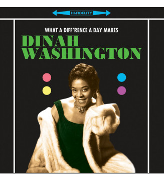 Dinah Washington - What A Diff'rence A Day Makes! (LP, Album, RE, 180) mesvinyles.fr