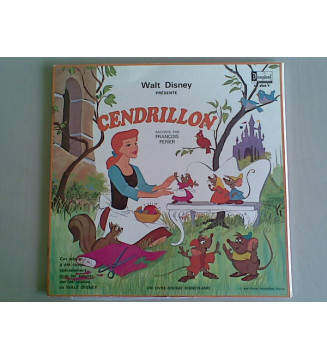 Walt Disney - Cendrillon (LP, Album, Gat) mesvinyles.fr