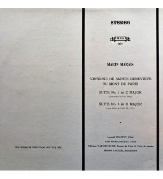 Marin Marais - Marin Marais (LP, Album) mesvinyles.fr