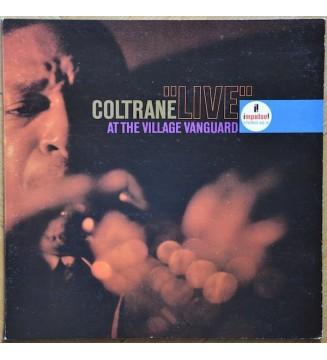 """Coltrane* - """"Live"""" At The Village Vanguard (LP, Album, RE, Gat) mesvinyles.fr"""