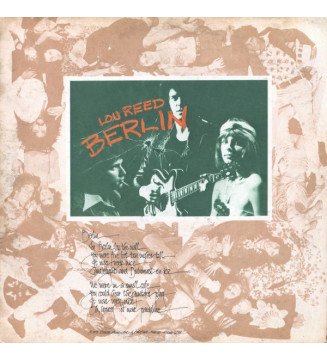 Lou Reed - Berlin (LP, Album, Ltd, RE, Whi) mesvinyles.fr