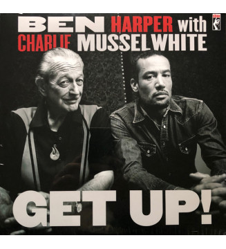 Ben Harper With  Charlie Musselwhite - Get Up!  (LP, Album) mesvinyles.fr