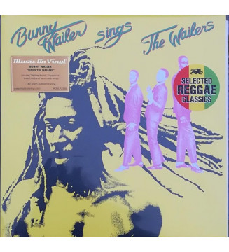 Bunny Wailer - Sings The Wailers (LP, Album, RE) mesvinyles.fr
