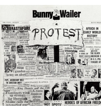 Bunny Wailer - Protest (LP, Album, RE, 180) mesvinyles.fr