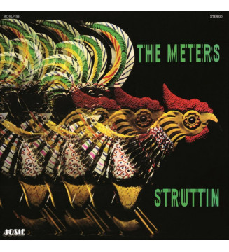 The Meters - Struttin' (LP, Album, RE, 180) mesvinyles.fr