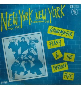 "Grandmaster Flash & The Furious Five - New York New York (12"", Ltd) mesvinyles.fr"