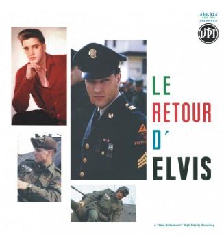 Elvis* - Le Retour D'Elvis / His Hand In Mine (2xLP, Album, Comp, Ltd, Num, Whi) mesvinyles.fr