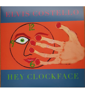 Elvis Costello - Hey Clockface (2xLP, Album, Ltd, Red) mesvinyles.fr