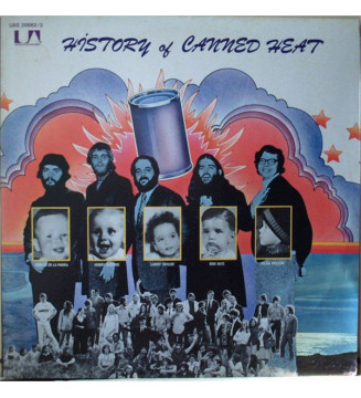 Canned Heat - History Of Canned Heat (2xLP, Comp) mesvinyles.fr
