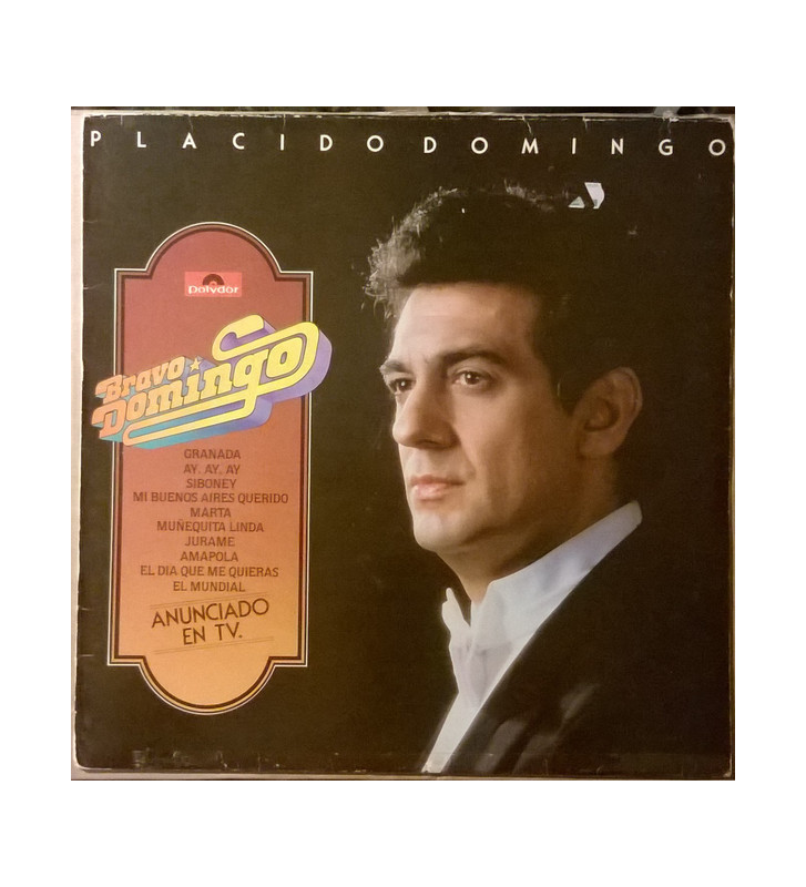 Placido Domingo - Bravo Domingo (LP, Comp) mesvinyles.fr