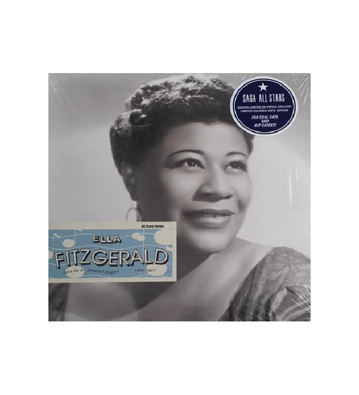 Ella Fitzgerald - Let's Do It / Selected Singles & EP's 1956-1957 (LP, Comp, RM, Cle) mesvinyles.fr