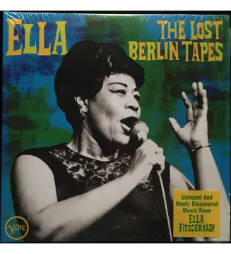 Ella Fitzgerald - The Lost Berlin Tapes (2xLP) mesvinyles.fr