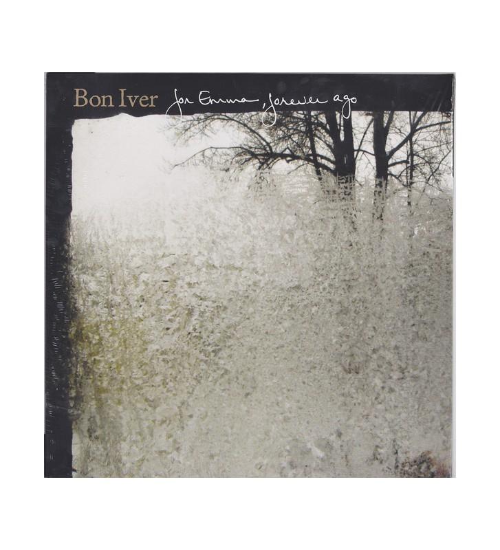 Bon Iver - For Emma, Forever Ago (LP, Album, RE) mesvinyles.fr