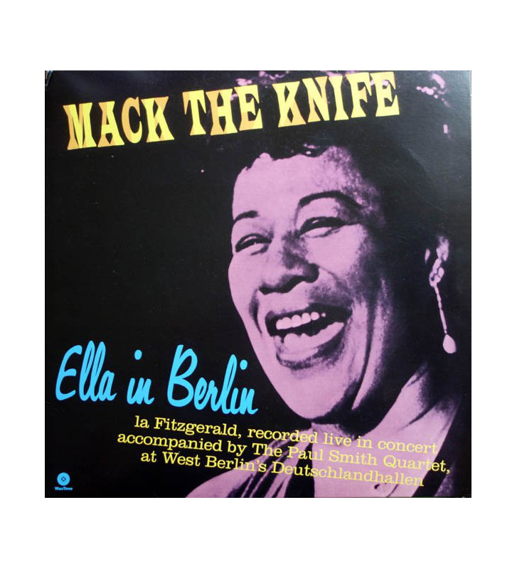Ella Fitzgerald - Mack The Knife - Ella In Berlin (LP, Album, Ltd, RE, RM, 180) mesvinyles.fr