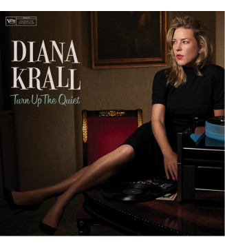 Diana Krall - Turn Up The Quiet (LP + LP, S/Sided + Album) mesvinyles.fr