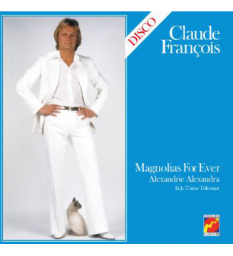 Claude François - Magnolias For Ever (LP, Album, Ltd, RE, Blu) mesvinyles.fr