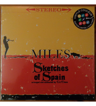 Miles Davis - Sketches Of Spain (LP, Album, Ltd, RE, Red) mesvinyles.fr