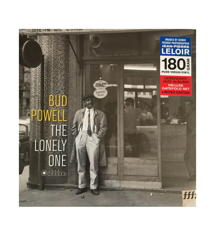 Bud Powell - The Lonely One (LP, Album, Dlx, Ltd, RE, 180) mesvinyles.fr