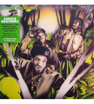 Jungle Brothers - Straight Out The Jungle (LP, Album, RE, 180) mesvinyles.fr