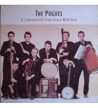The Pogues - If I Should Fall From Grace With God (LP, Album) mesvinyles.fr