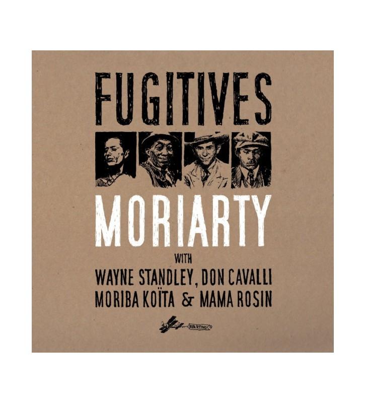 "MoriArty (3) With Wayne Standley, Don Cavalli, Moriba Koïta & Mama Rosin - Fugitives (2x12"", Album, Gat + CD, Album) mesvinyles."
