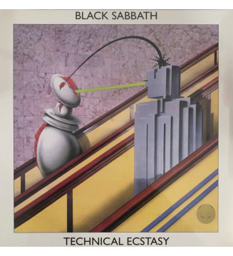 Black Sabbath - Technical Ecstasy (LP, Album, RE, RM, 180) mesvinyles.fr