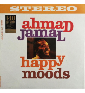 Ahmad Jamal - Happy Moods (LP, Album, RE) mesvinyles.fr