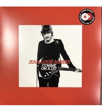Jean-Louis Aubert - Comme on a dit (LP, Comp, Whi + LP, Comp, Red) mesvinyles.fr