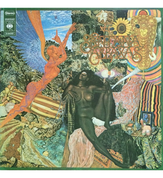 Santana - Abraxas (LP, Album, Gat) mesvinyles.fr