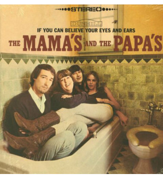 The Mama's And The Papa's* - If You Can Believe Your Eyes And Ears (LP, Album, RE, Toi) mesvinyles.fr