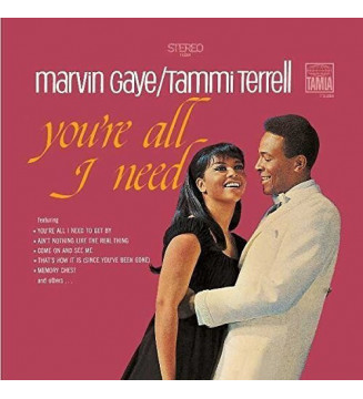 Marvin Gaye / Tammi Terrell* - You're All I Need (LP, Album, RE, RP) mesvinyles.fr