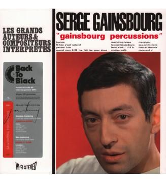 Serge Gainsbourg - Gainsbourg Percussions (LP, Album, RE, RM, 180) mesvinyles.fr