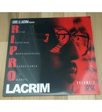 Lacrim - R.I.P.R.O. Volume 1  (2xLP, Album, RE) mesvinyles.fr
