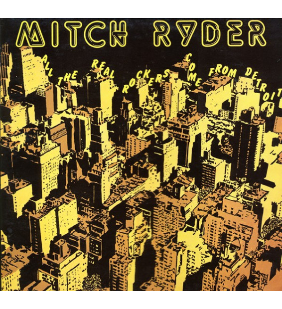Mitch Ryder - All The Real Rockers Come From Detroit (LP, Comp) mesvinyles.fr