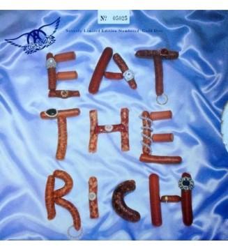 """Aerosmith - Eat The Rich (10"""", Ltd, Num, Pic, Gol) mesvinyles.fr"""
