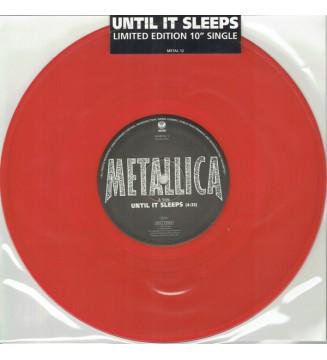 "Metallica - Until It Sleeps (10"", Single, Ltd, Red) mesvinyles.fr"