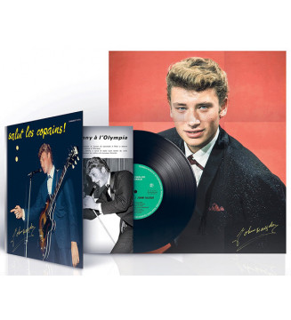 """Johnny Hallyday - Salut Les Copains! (10"""", Album, Ltd, RE) mesvinyles.fr"""
