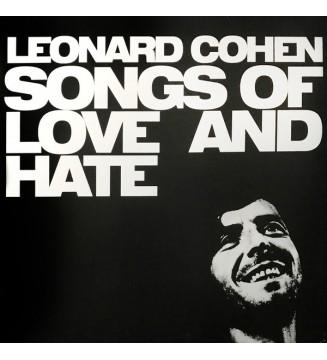 Leonard Cohen - Songs Of Love And Hate (LP, Album, RE, RM, 180) mesvinyles.fr
