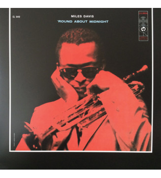 Miles Davis - 'Round About Midnight (LP, Album, Mono, 180) mesvinyles.fr
