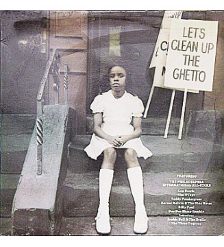 Various - Let's Clean Up The Ghetto (LP, Comp) mesvinyles.fr