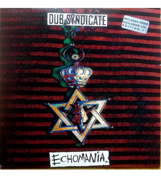 "Dub Syndicate - Echomania (LP, Album + 7"", Single, Ltd) mesvinyles.fr"
