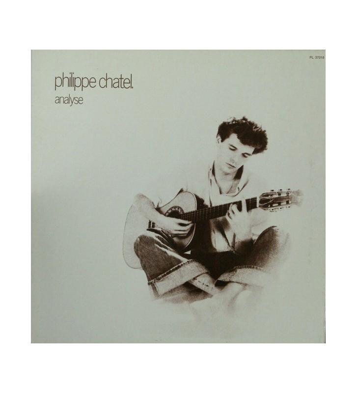 Philippe Chatel - Analyse (LP, Gat) mesvinyles.fr