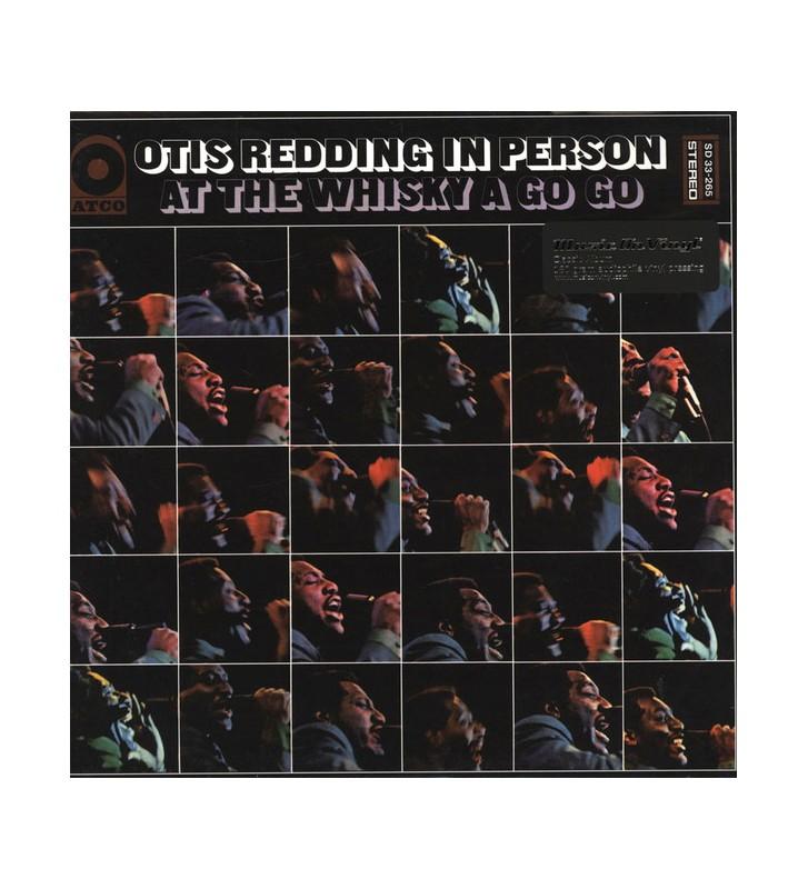 Otis Redding - In Person At The Whisky A Go Go (LP, Album, RE, 180) mesvinyles.fr