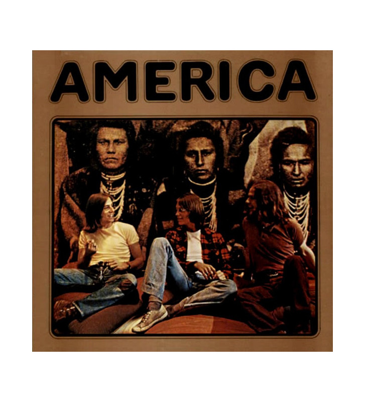America (2) - America (LP, Album, RE, 180) mesvinyles.fr