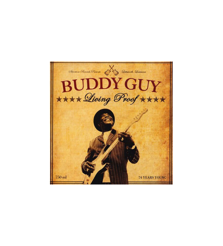 Buddy Guy - Living Proof (LP, 180 + LP, S/Sided, Etch, 180 + Album) mesvinyles.fr