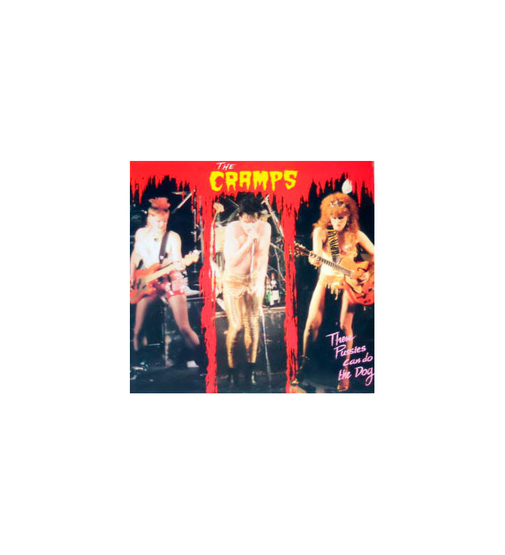The Cramps - These Pussies Can Do The Dog (2xLP, Unofficial) mesvinyles.fr