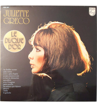 Juliette Greco* - Le Disque D'Or (LP, Comp, RE) mesvinyles.fr